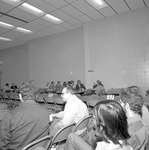 1972 Career Day in Student Commons Auditorium 11 by Opal R. Lovett