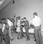 1972 Career Day in Student Commons Auditorium 15 by Opal R. Lovett