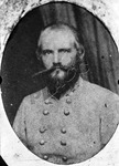 Studio portrait of Major General John Horace Forney, circa 1862 by Russell Brothers Studio