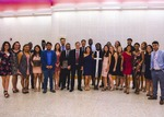 2017-2018 International House Program Students by unknown
