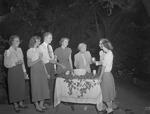Reception Given by Church During 1950 Freshmen Orientation 1 by Opal R. Lovett
