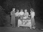 Reception Given by Church During 1950 Freshmen Orientation 2 by Opal R. Lovett