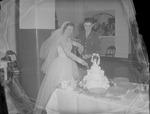 Pearson 1952 Wedding at Silver Chapel at Fort McClellan by Opal R. Lovett
