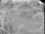 Races at Crystal Springs Lake in Wellington, Alabama by Opal R. Lovett