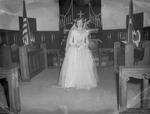 Pearson 1952 Wedding at Silver Chapel at Fort McClellan 2 by Opal R. Lovett