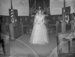 Pearson 1952 Wedding at Silver Chapel at Fort McClellan 3 by Opal R. Lovett