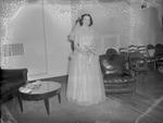 Pearson 1952 Wedding at Silver Chapel at Fort McClellan 4 by Opal R. Lovett