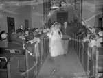 Pearson 1952 Wedding at Silver Chapel at Fort McClellan 7 by Opal R. Lovett