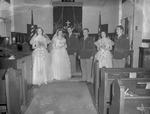 Pearson 1952 Wedding at Silver Chapel at Fort McClellan 10 by Opal R. Lovett
