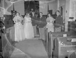 Pearson 1952 Wedding at Silver Chapel at Fort McClellan 11 by Opal R. Lovett