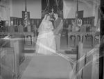 Pearson 1952 Wedding at Silver Chapel at Fort McClellan 12 by Opal R. Lovett