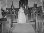 Pearson 1952 Wedding at Silver Chapel at Fort McClellan 13 by Opal R. Lovett