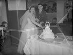 Pearson 1952 Wedding at Silver Chapel at Fort McClellan 14 by Opal R. Lovett
