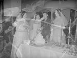 Pearson 1952 Wedding at Silver Chapel at Fort McClellan 15 by Opal R. Lovett
