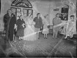 Pearson 1952 Wedding at Silver Chapel at Fort McClellan 17 by Opal R. Lovett