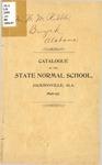 Annual Catalog & Announcement   1896-97