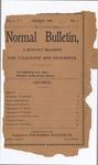 Quarterly Bulletin   March 1905