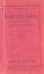 Quarterly Bulletin & Annual Announcement | December 1905