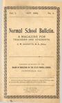 Quarterly Bulletin | October 1906