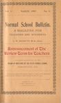 Quarterly Bulletin | March 1907
