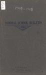 Quarterly Bulletin, Catalog & Annual Announcement   June 1907