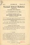 Quarterly Bulletin   October 1907