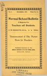 Quarterly Bulletin | December 1907