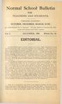 Quarterly Bulletin | December 1908