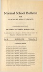 Quarterly Bulletin | March 1910
