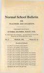 Quarterly Bulletin   March 1911