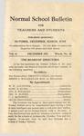 Quarterly Bulletin   December 1911