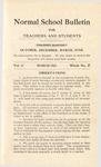 Quarterly Bulletin | March 1912