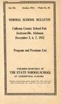 Quarterly Bulletin | October 1912