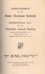 Quarterly Bulletin & Annual Announcement | June 1913