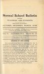 Quarterly Bulletin   October 1913