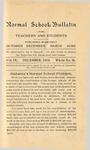Quarterly Bulletin   December 1914
