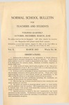 Quarterly Bulletin   March 1915
