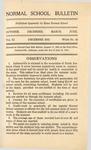 Quarterly Bulletin | December 1915