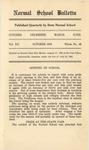 Quarterly Bulletin   October 1916