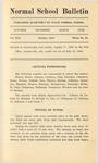 Quarterly Bulletin | October 1919