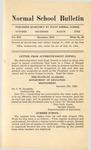Quarterly Bulletin | December 1919
