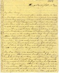 Correspondence | Letter from Lucinda Greer to Mary Caldwell, September 1848
