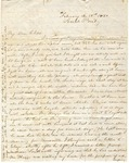 Correspondence   Letter from Lucinda Greer to Mary Caldwell, February 1850 by Lucinda Greer