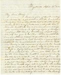 Correspondence | Letter from Lucinda Greer to Mary Caldwell, April 1850