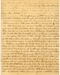 Correspondence   Letter from Lucinda Greer to Mary Caldwell, June 1852
