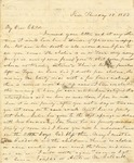 Correspondence | Letter from Lucinda Greer to Mary Caldwell, June 1853