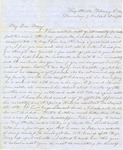 Correspondence | Letter from Lucinda Greer to Mary Caldwell, February 1854