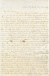 Correspondence | Letter from Lucinda Greer to Mary Caldwell, May 1854