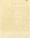 Correspondence | Letter from Eliza Garrett to Mary Caldwell, July 1856