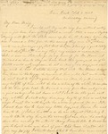Correspondence   Letter from Lucinda Greer to Mary Caldwell, February 1860